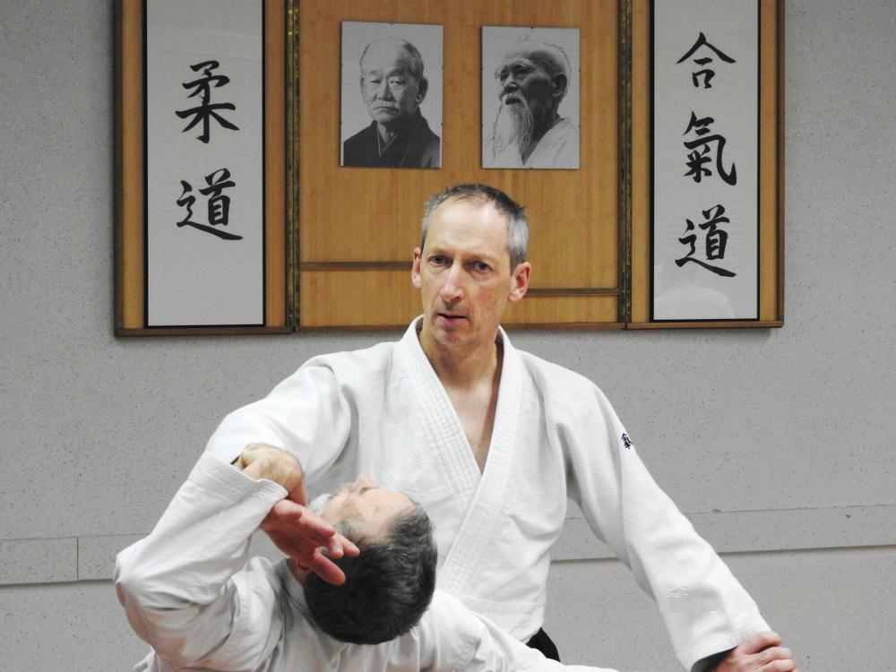 Philippe Uguet, enseignant Aïkido Brocéliande