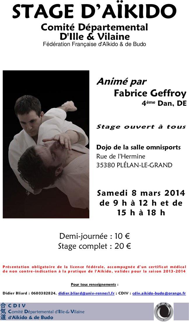 Affiche de Stage